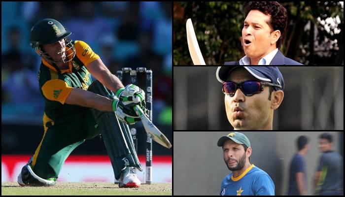AB de Villiers breaks Sachin Tendulkar, Virender Sehwag, Shahid Afridi's records after scoring 176 against Bangladesh
