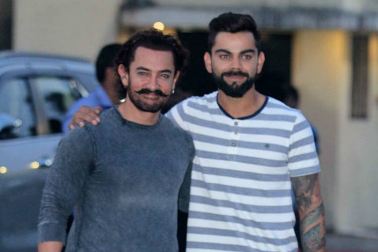 Virat Kohli invites Aamir Khan to watch India vs Australia 3rd T20I atHyderabad