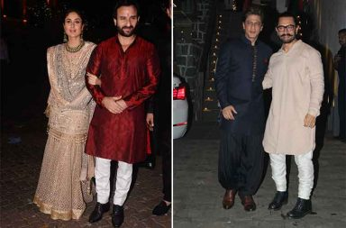 Diwali 2017 Celebs spotted at Aamir Khan's party photo
