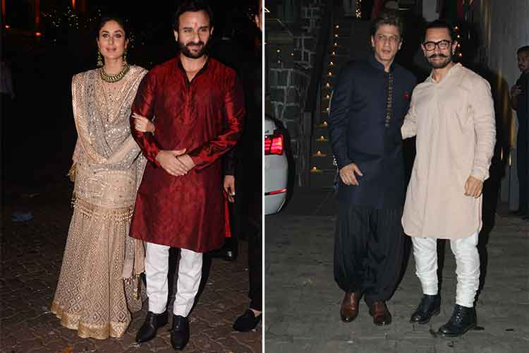 Diwali 2017: Celebs spotted at Aamir Khan's party