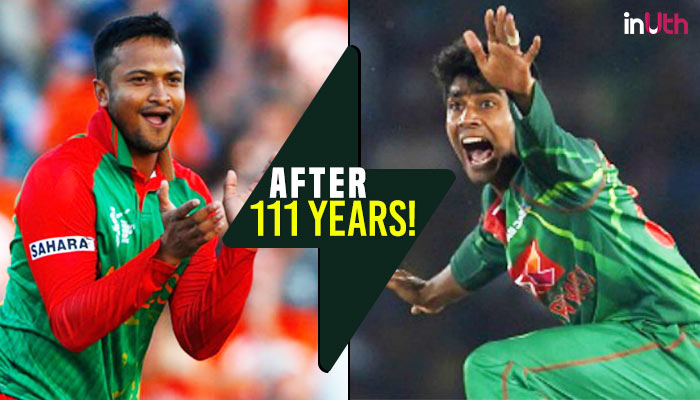 Shakib Al Hasan and Mehidy Hasan did something which no team has done on the South African soil in 111 years!