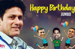 Anil Kumble 47th Birthday