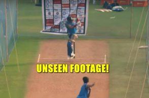 Arjun Tendulkar, Virat Kohli, Arjun Tendulkar bowling speed, Arjun Tendulkar bowling video, Arjun Tendulkar to Virat Kohli, Arjun Tendulkar vs Virat Kohli