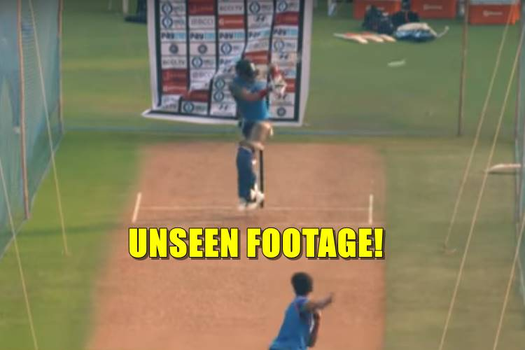 Unseen footage of Arjun Tendulkar bowling to Virat Kohli, leaves Indian players stunned — Watch Video
