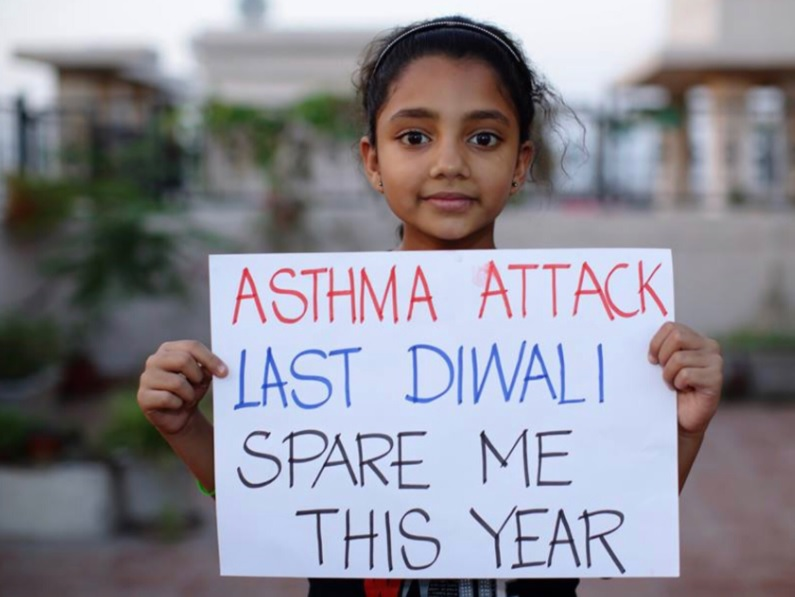 Image result for post diwali pollution india