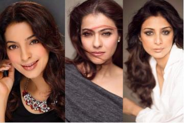 Look at these pictures of Kajol, Madhuri Dixit, Juhi Chawla and answer THIS one importantquestion