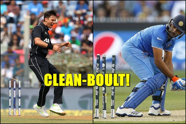 Trent Boult exploits Rohit Sharma's weakness against left-arm seamers, knocks him over — Watch Video