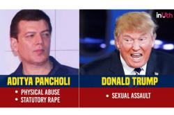 Trump to Aditya Pancholi: Men whose careers were not affected by allegations of abuse