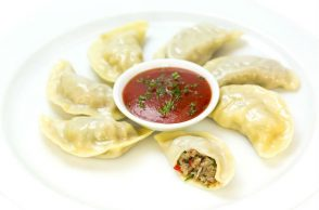 Chicken Momos, food