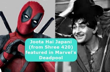 Hollywood movies Bollywood songs, Mera Joota Hai Japani Deadpool, Chaiyya Chaiyya Inside Man