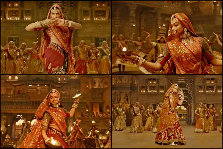Deepika Padukone in Ghoomar Song Padmavati