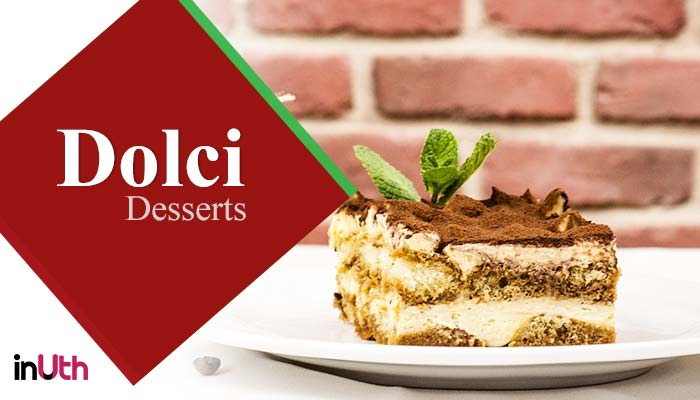 Desserts, italian food