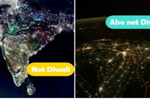 Diwali fake image controversy
