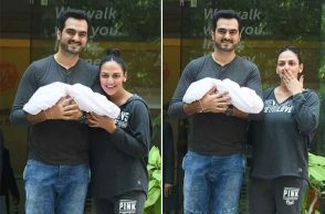First photos of Esha Deol and Bharat Takhtani's newborn baby girl