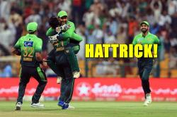 Fahim Ashraf becomes the first Pakistani bowler to take a hat-trick in T20I format — Watch Video