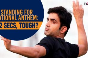 Gautam Gambhir, Gautam Gambhir National Anthem, Gautam Gambhir Twitter, Gautam Gambhir tweets, National Anthems in cinema halls controversy, Supreme Court National Anthem