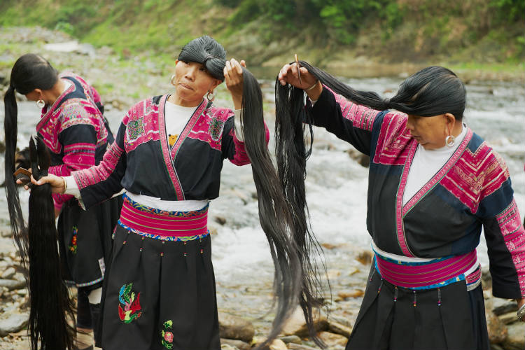Women in this Chinese village have 'Rapunzel hair'. And we know their secret