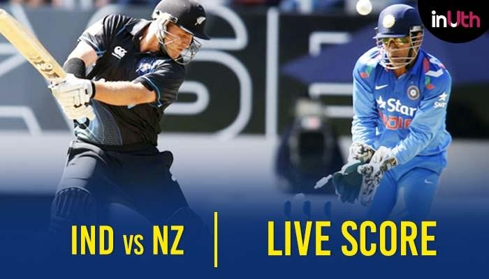 NZ Vs IND: IND 16/1, India Vs New Zealand 1st ODI, Live Cricket Score