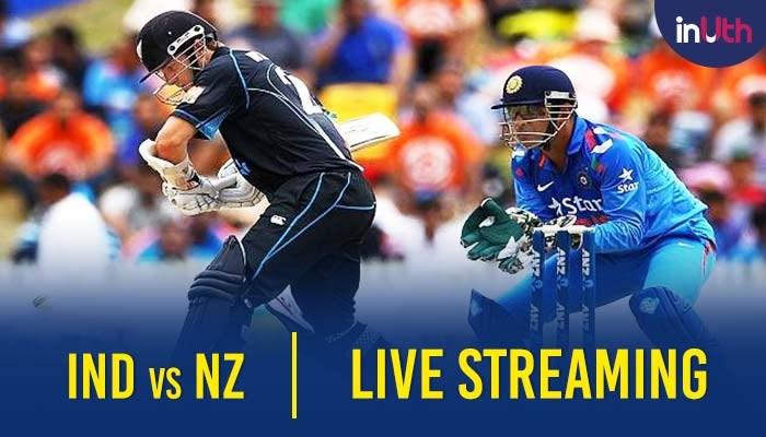NZ Vs IND: India Vs New Zealand 1st ODI Live Streaming