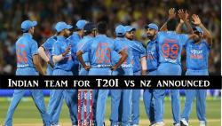 India team for T20Is versus New Zealand announced, Shreyas Iyer, Mohammed Siraj included