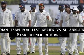 India vs Sri Lanka 2017, India squad for Test series, India Test squad, Ravindra Jadeja comeback, Abhinav Mukund, Axar Patel,, Murali Vijay, India vs Sri Lanka 2017, India vs Sri Lanka 2017 fixtures