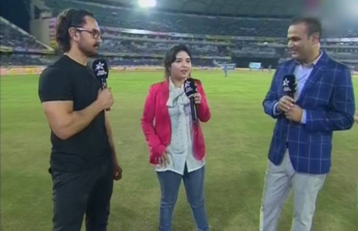 Aamir Khan and Zaira Wasim