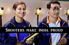 Jitu Rai, Heena Sidhu win Gold