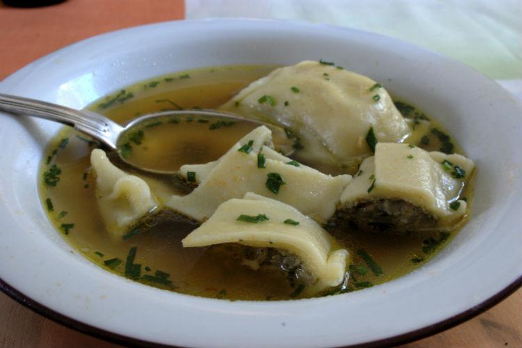 Kreplach, dumpling