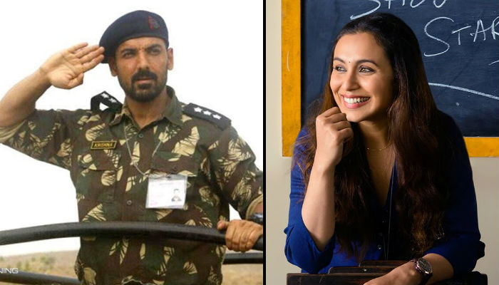 Parmanu, Hichki movie posters