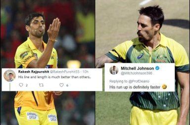 Mitchell Johnson, Ashish Nehra, India vs Australia T20I series, Dean Jones, Mitchell Johnson trolled, Ashish Nehra trolled