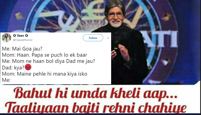 Amitabh Bachchan's favourite line from Kaun Banega Crorepati is a