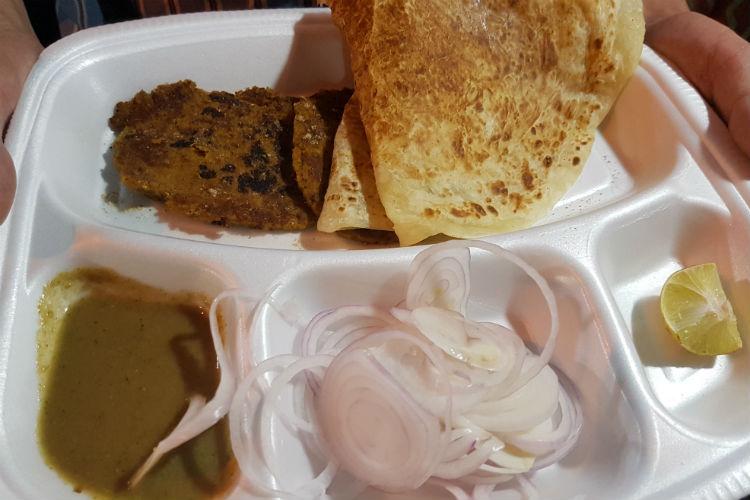 Kabab Parathas, food
