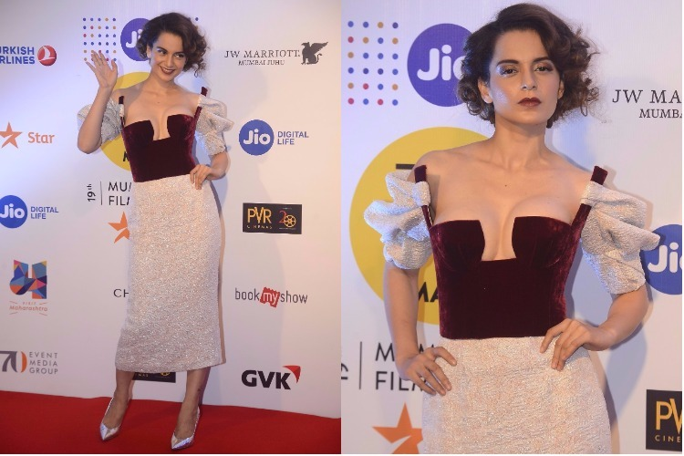 MAMI 2017: Is this the riskiest dress ever worn by Kangana Ranaut?