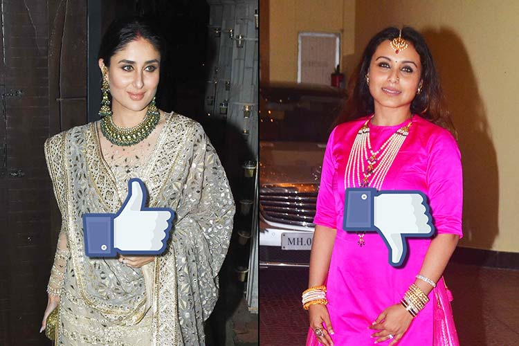 Rani Mukerji to Kareena Kapoor: Best and worst dressed celebs this Diwali that will leave youconfused