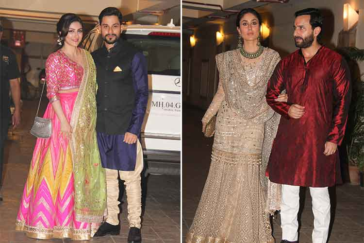 Kareena-Saif Diwali party pics