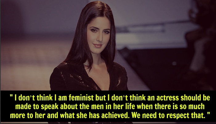 Katrina Kaif Feminism