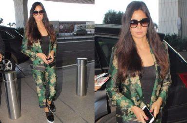 Katrina Kaif at the airport