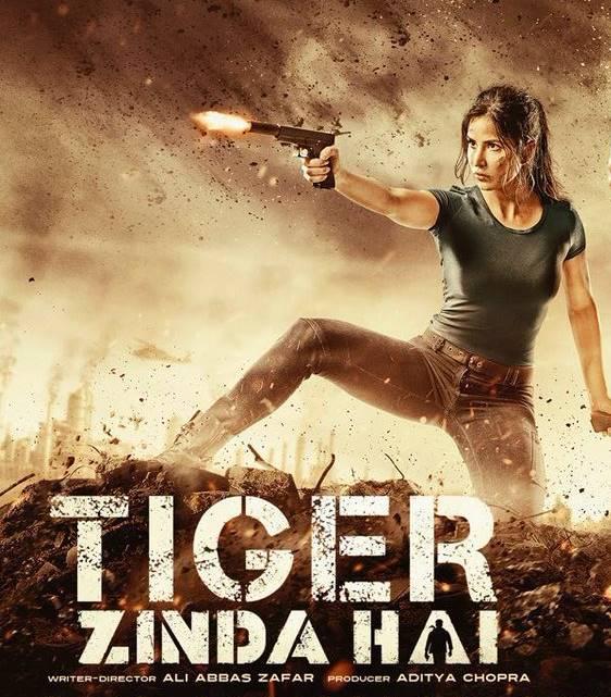 Katrina Kaif in Tiger Zinda Hai poster
