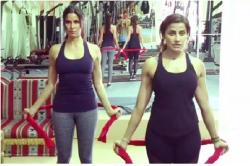 Katrina Kaif's trainer tells how to get toned arms using just a towel -- Watch video