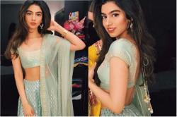 You can celebrate Diwali for next 5 years for the cost of Khushi Kapoor's lehenga!