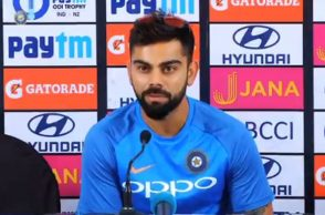 Virat Kohli prematch conference