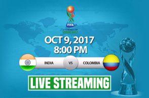 India vs Clombia U-17 World Cup 2017