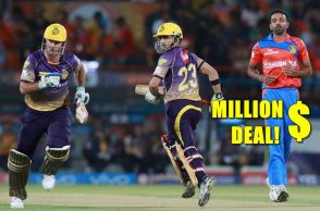 Chris Lynn BBL, Chris Lynn million dollar deal, Chris Lynn Brisbane Heat, Big Bash League 2017-18, Kolkata Knight Riders, Gautam Gambhir, Australia, Biggest deal in history of BBL