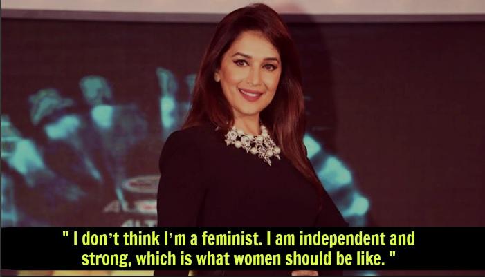 Madhuri Dixit Nene Feminism