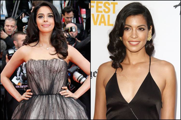 Mallika Shehrawat and Stephanie Sigman
