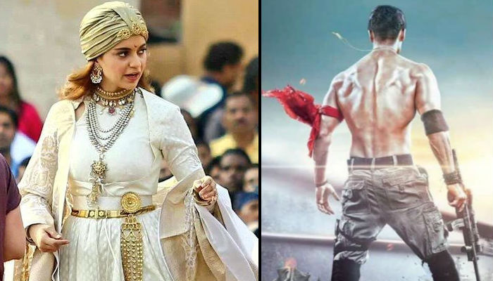 Manikarnika, Baaghi 2, movie posters