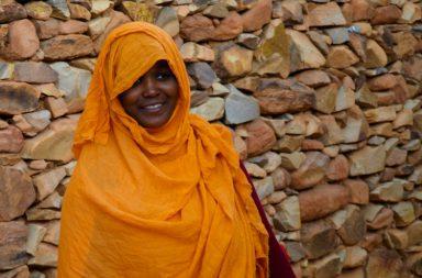 Mauritania woman