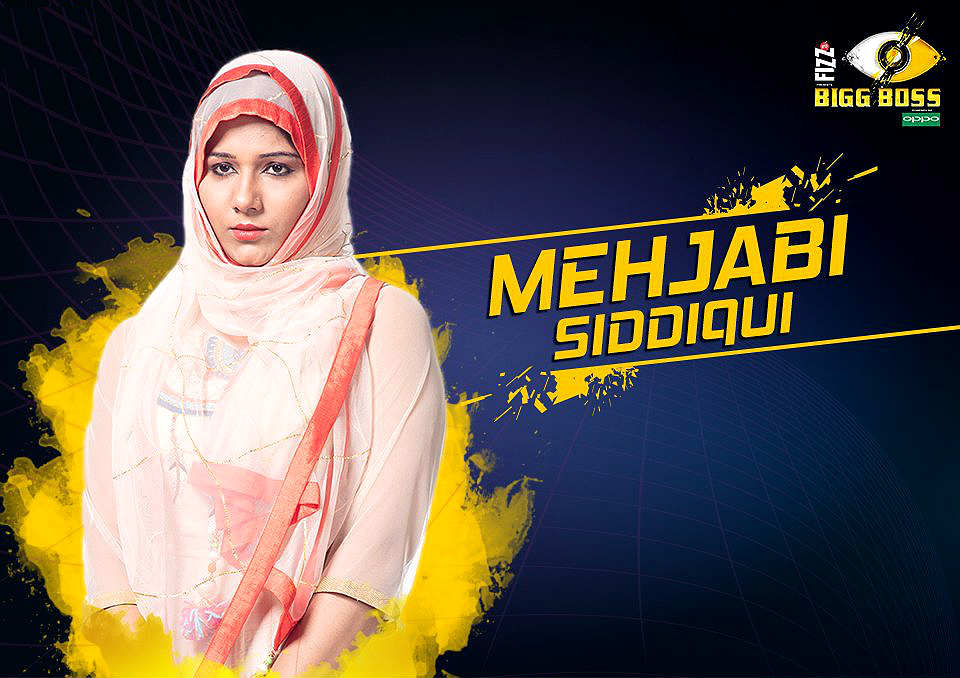 Mehjabi Siddiqui, Bigg Boss 11, Colors TV