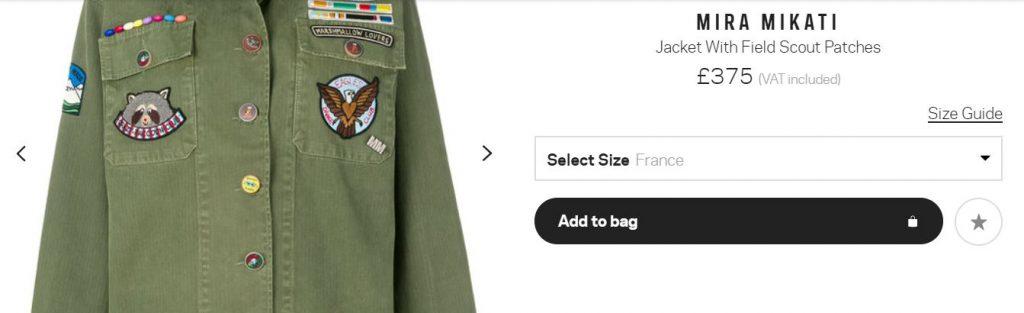 Mira Mikati Jacket