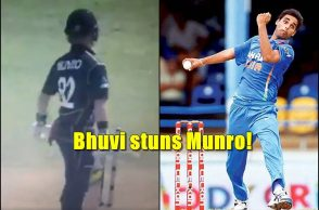 Bhuvneshwar Kumar, Colin Munro, Bhuvneshwar Kumar wicket, Bhuvneshwar Kumar knuckleball, Bhuvneshwar Kumar best bowling,, India vs New Zealand 2nd ODI, Pune ODI, cricket news